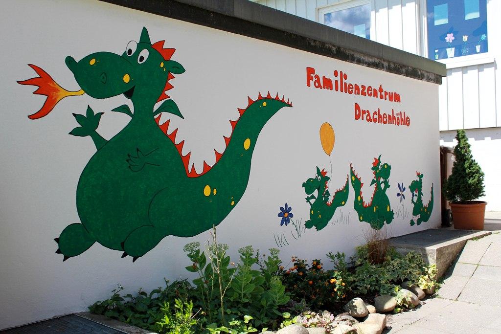 Bild Familienzentrum Eingang